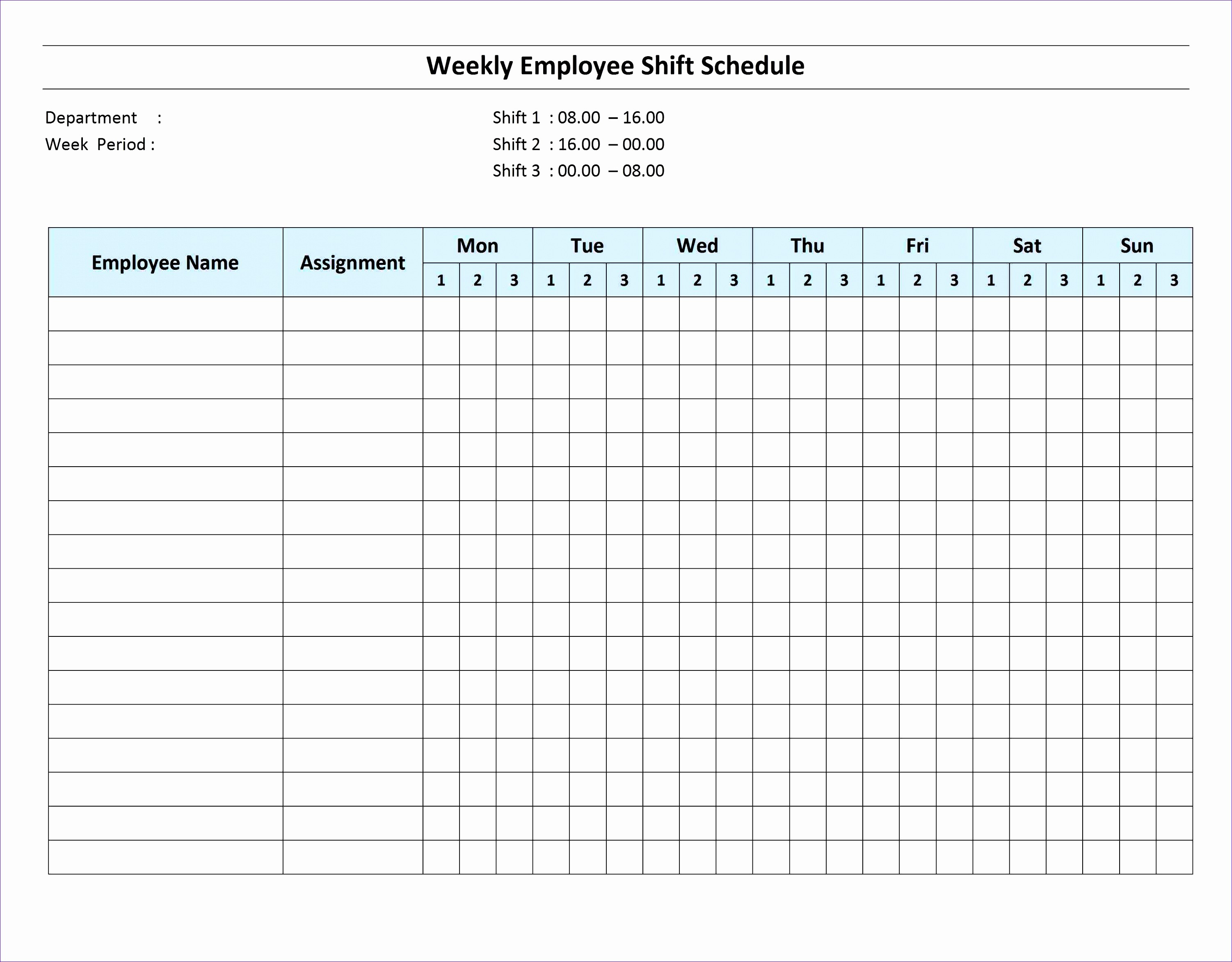 Monthly Work Schedule Template Excel Awesome 10 Excel Monthly Work Schedule Template Exceltemplates
