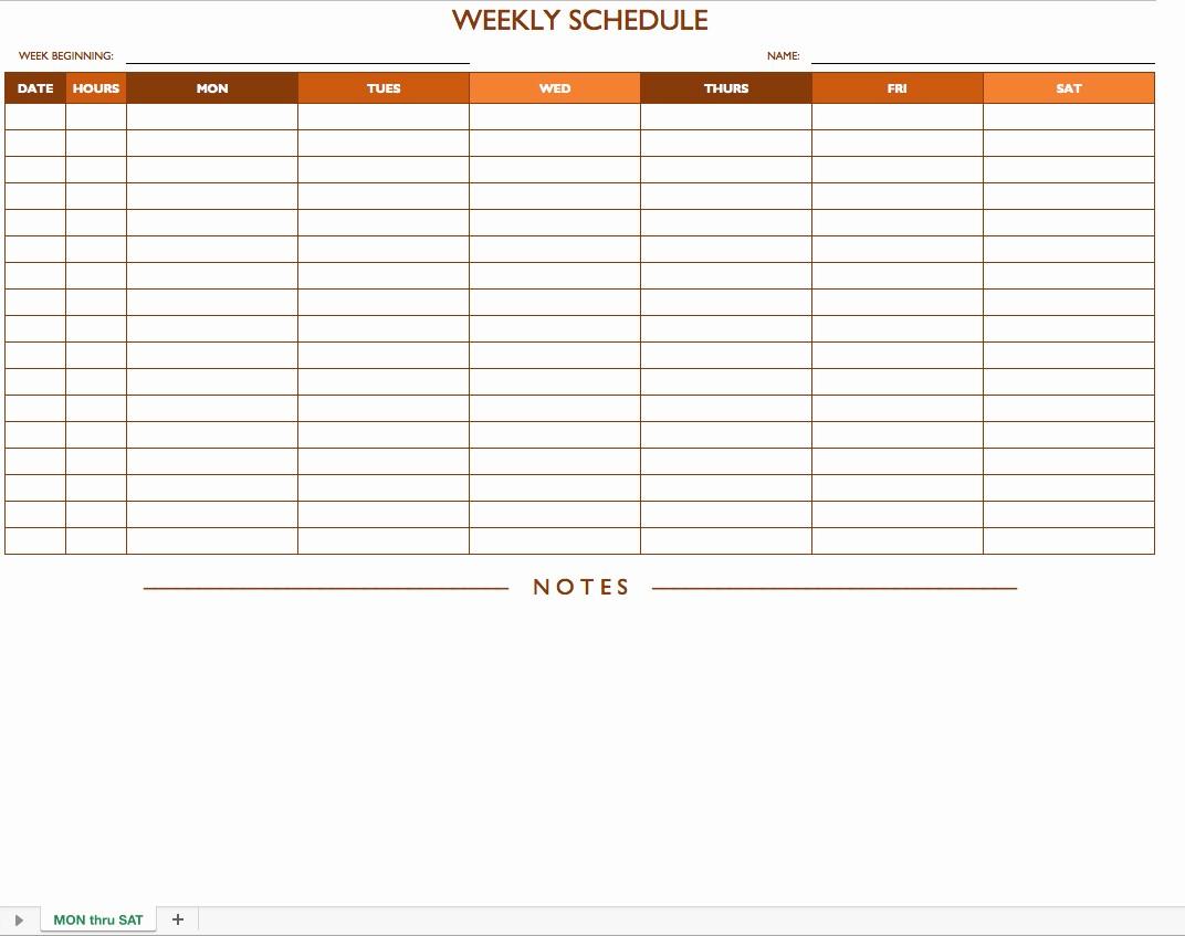 Monthly Work Schedule Template Excel Best Of Excel Spreadsheet Template for Scheduling Spreadsheet