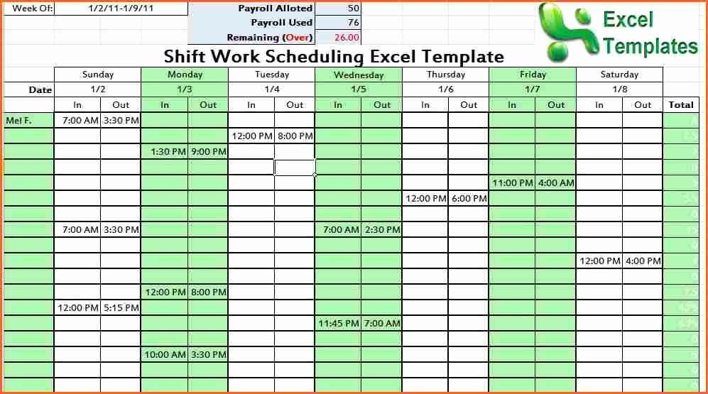 Monthly Work Schedule Template Excel Best Of Weekly Work Plan Template Excel Bud Template Letter