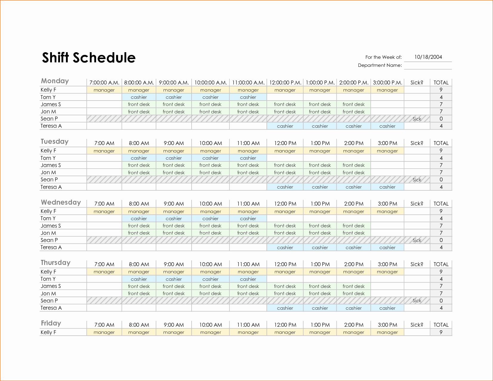 Monthly Work Schedule Template Excel Elegant 8 Monthly Schedule Template