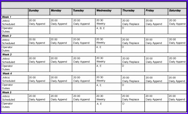 Monthly Work Schedule Template Excel Fresh 14 Free Excel Employee Schedule Template Exceltemplates