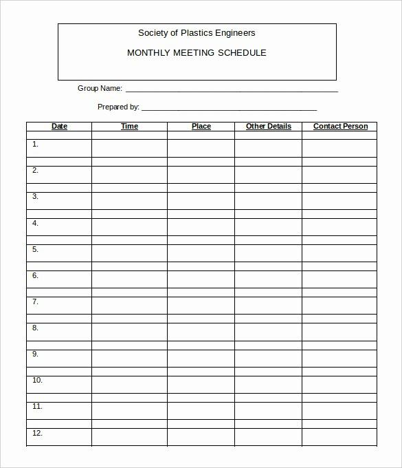 Monthly Work Schedule Template Excel New 21 Monthly Work Schedule Templates Pdf Doc