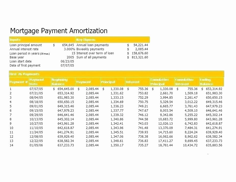 Mortgage Interest Amortization Schedule Excel Awesome Mortgage Amortization Template Excel Auto Loan