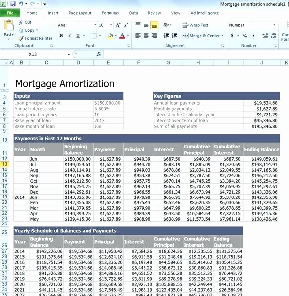 Mortgage Payment Schedule Calculator Excel Best Of Mortgage Payment Calculator Template Ideasplataforma