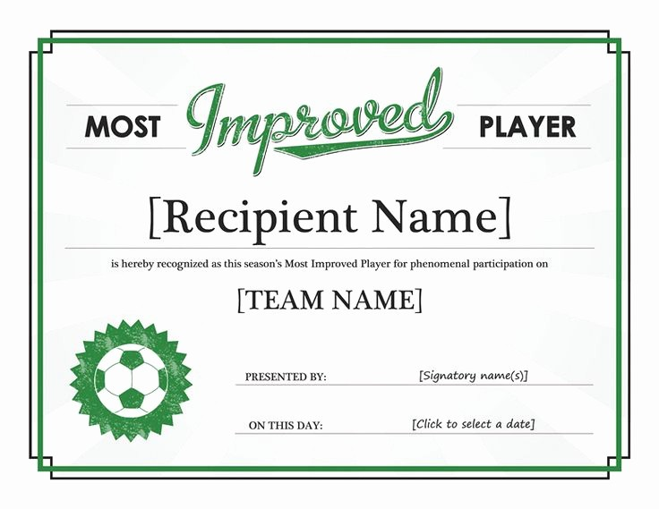 Most Improved Student Award Wording Awesome 30 Best Images About Awards & Certificates On Pinterest