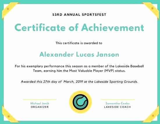 Most Improved Student Award Wording Awesome Mock Certificate Template Best Award Templates Free Ideas