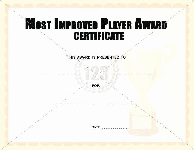 Most Improved Student Award Wording Best Of Most Improved Award Template – Voipersracing