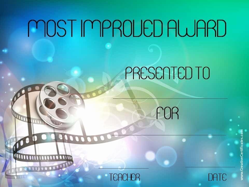 Most Improved Student Award Wording New Free Printable Superlative Awards