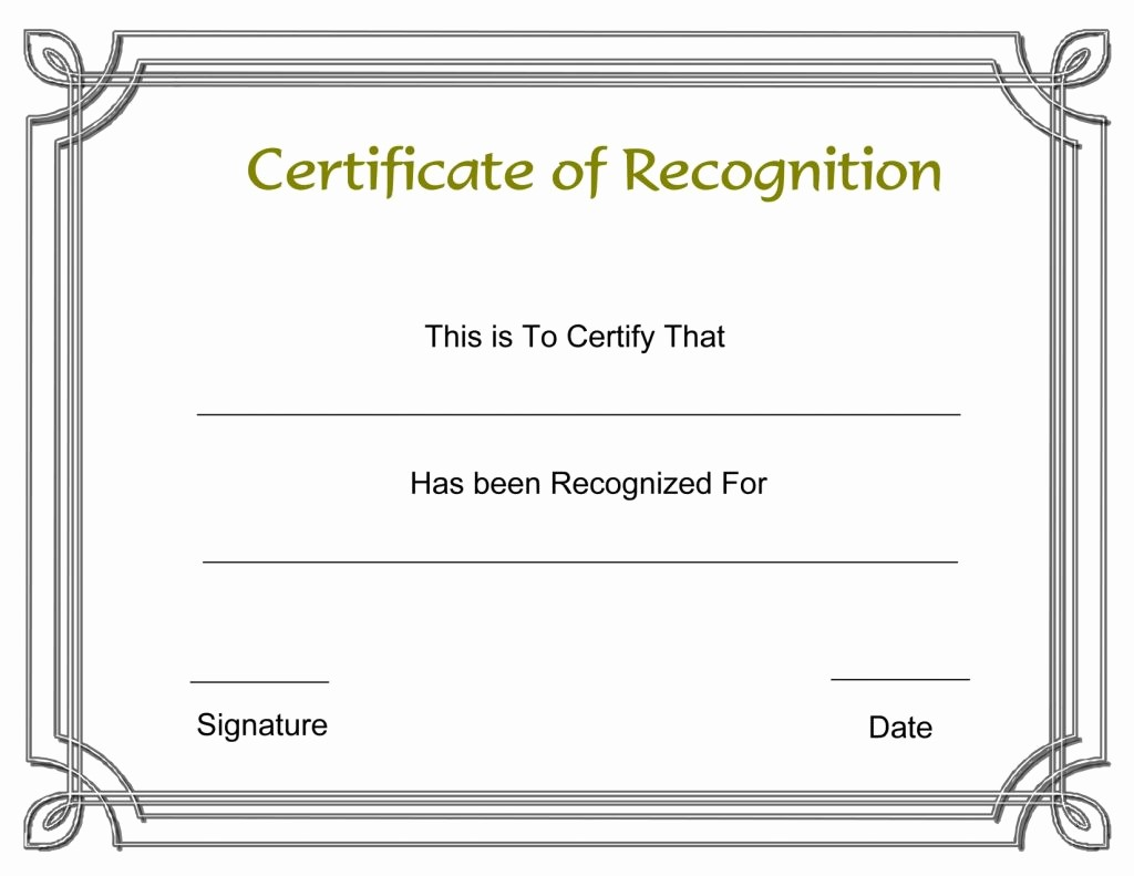 Most Likely to Awards Template Elegant Resume Responsibilities Award Certificate Template Funny