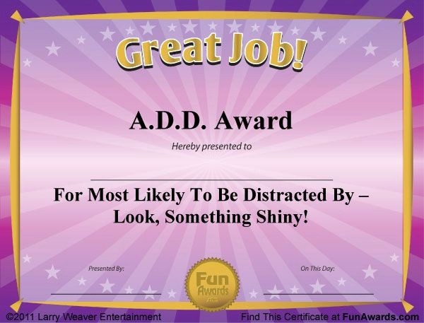 Most Likely to Awards Template New Best 25 Funny Certificates Ideas On Pinterest
