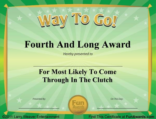 Most Likely to Awards Template Unique 1000 Images About Fun Awards On Pinterest