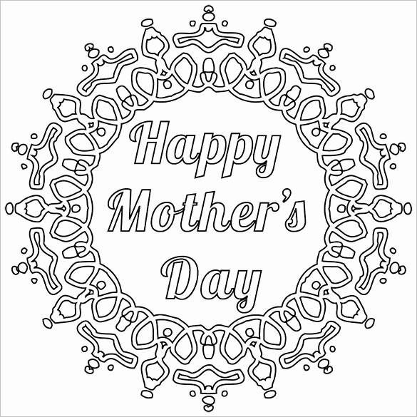 Mother Day Card Templates Free Elegant 11 Mothers Day Card Templates Psd Eps