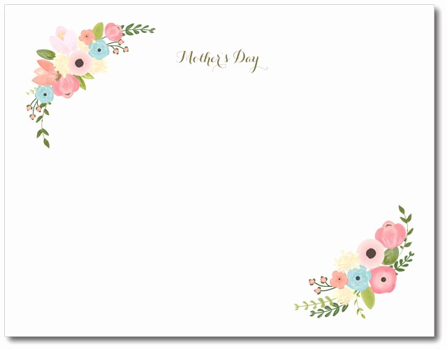 Mother Day Card Templates Free Elegant Diy Mother S Day Printable Keepsake Project Nursery