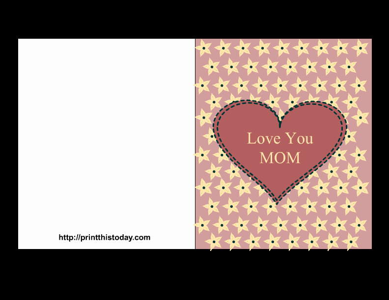 Mother Day Card Templates Free Elegant Free Mother S Day Cards Printable