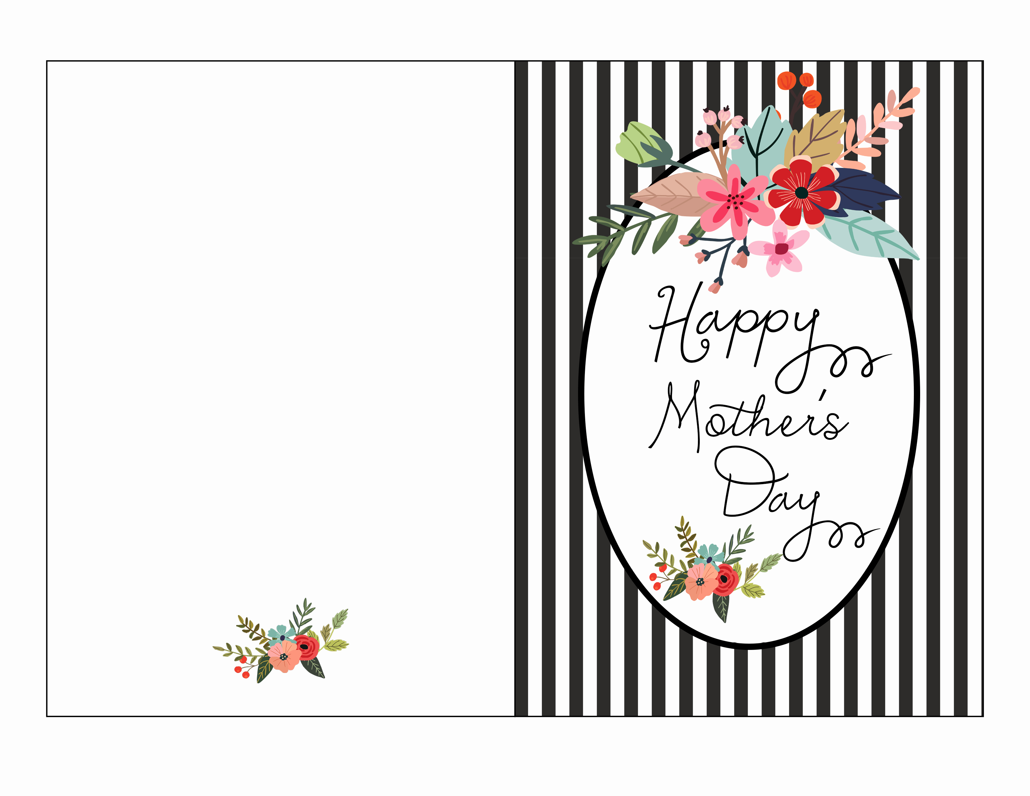 Mother Day Card Templates Free Elegant Mothers Day Cards