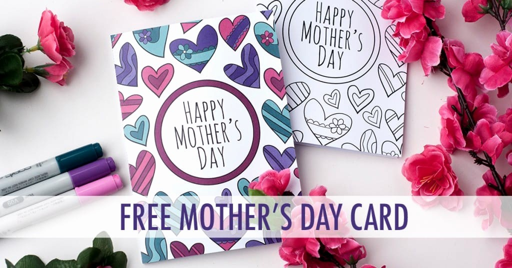 Mother Day Card Templates Free Inspirational Free Mother S Day Card