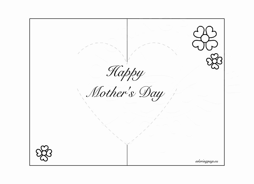 Mother Day Card Templates Free Inspirational Mother S Day Pop Up Card