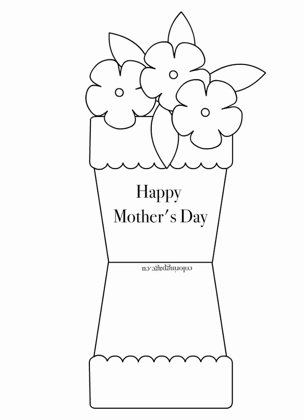 Mother Day Card Templates Free New Free Printable Coloring Pages for Any Occasion