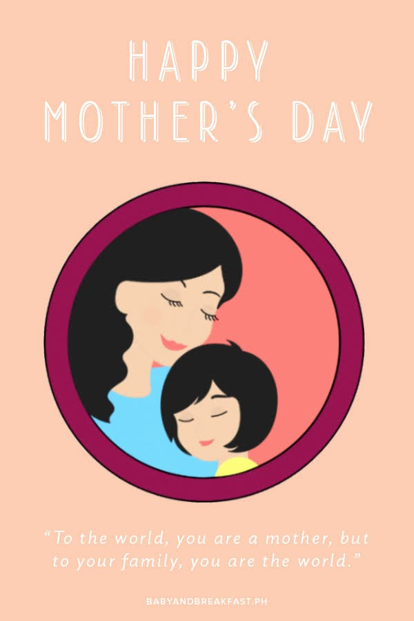 Mother's Day Card From Baby Elegant Happy Mother S Day