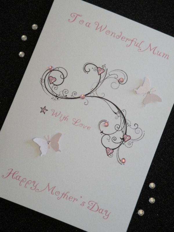 Mother's Day Card From Baby Inspirational Handmade Personalised Mother S Day Birthday Card Mum