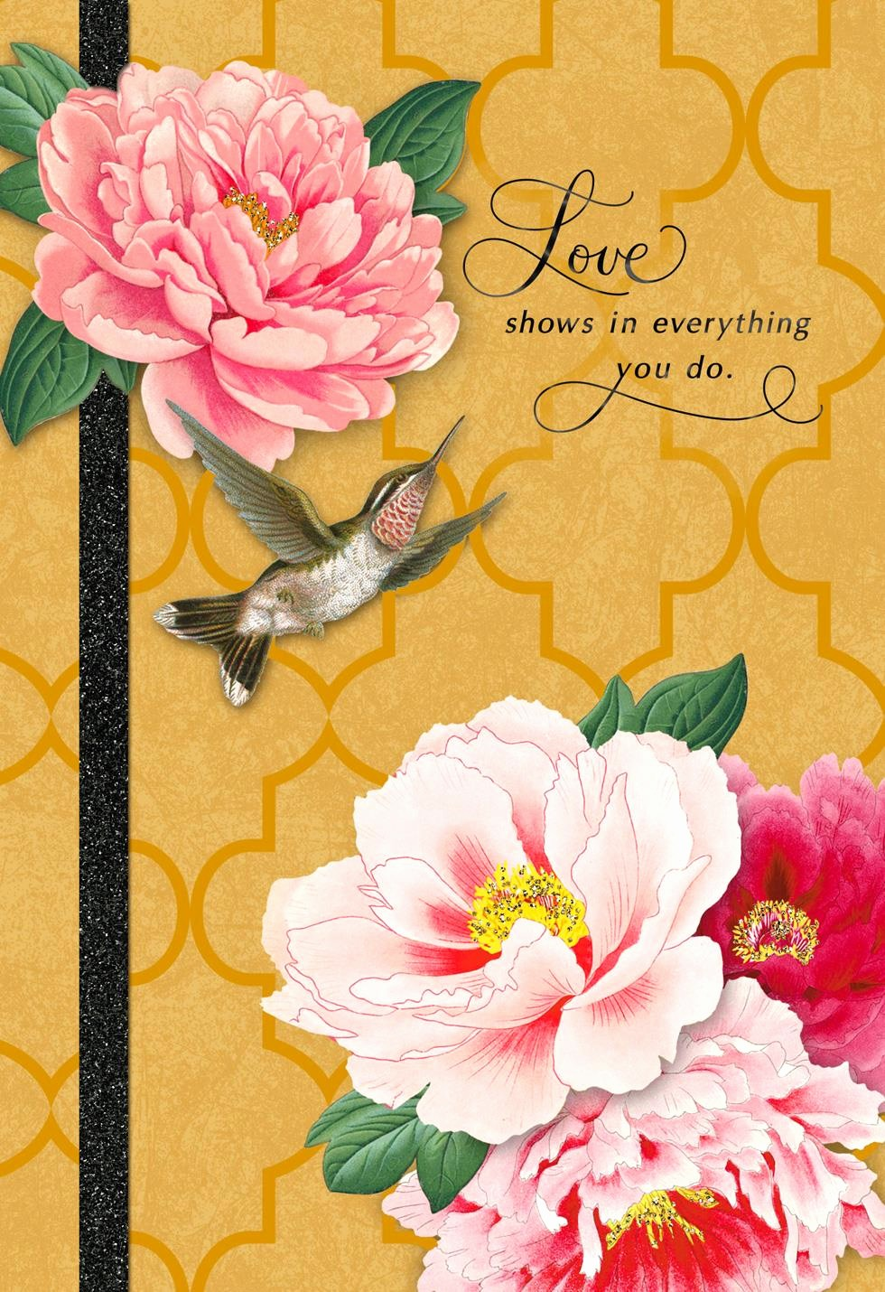 Mother's Day Card From Baby Inspirational Hummingbird and Pink Flowers Mother S Day Card Greeting
