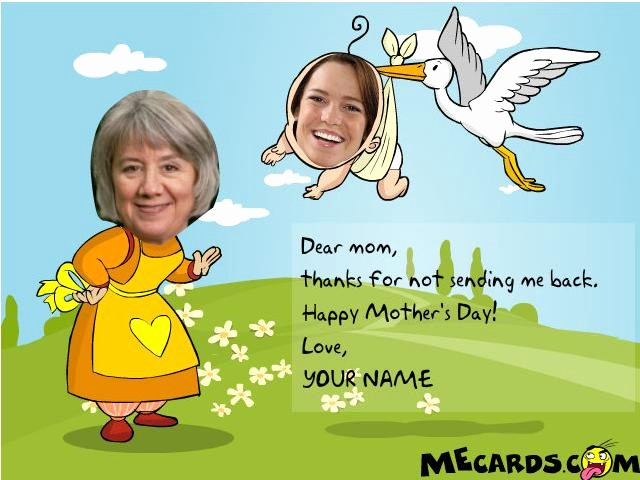 Mother's Day Card From Baby Lovely 12 Mothers Day Funny Cards 2018