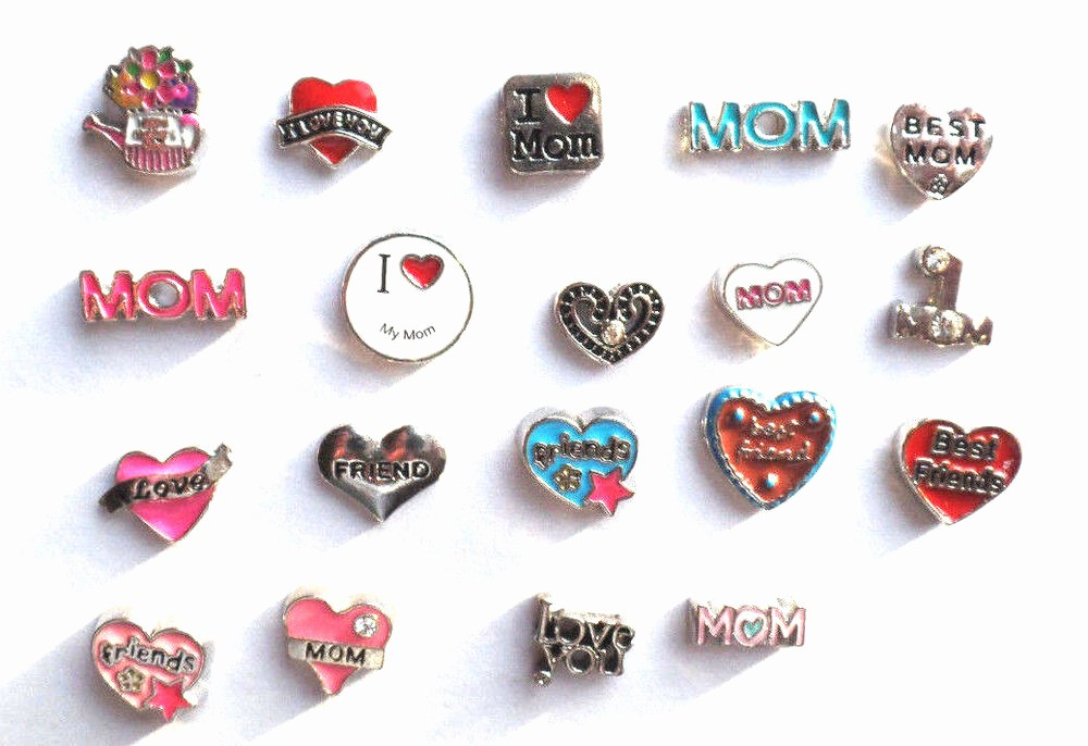 Mother's Day Card From Baby Luxury Floating Charms Mother S Day Mom Love Best Friends I Love