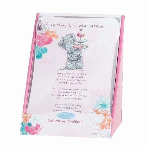 Mother's Day Card From Baby New Variety Me to You Tatty Teddy Plush Bears & Gifts Mum