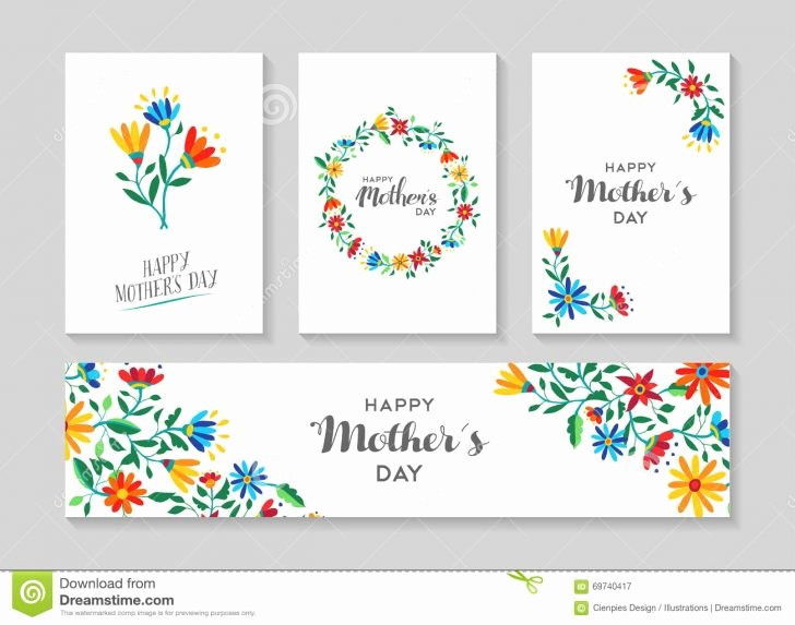 Mother's Day Menu Template Word New Card Mothers Day Card Templates