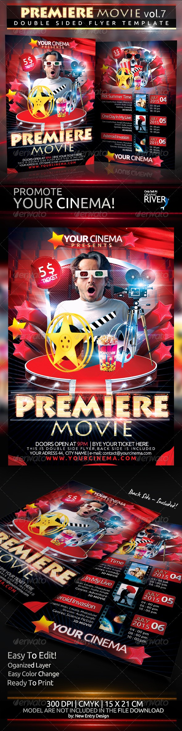 Movie Premiere Invitation Template Free Awesome Movie Premiere Invitation Template Dondrup