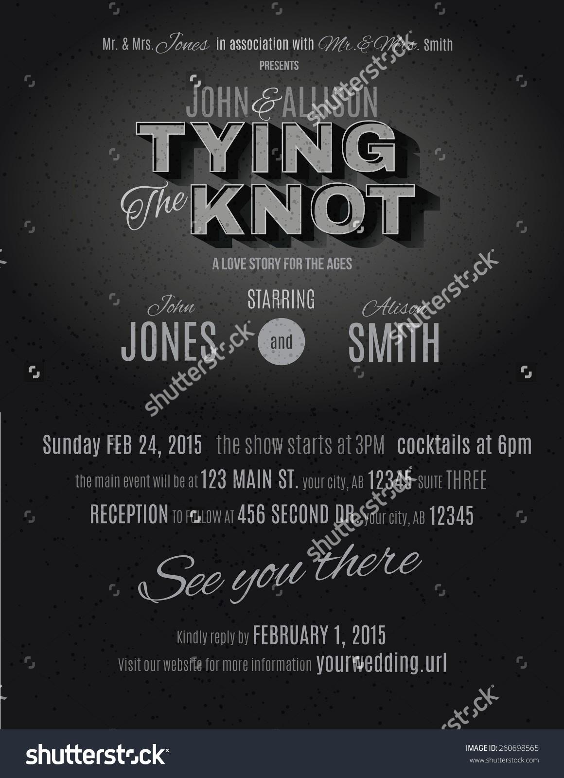 Movie Premiere Invitation Template Free Awesome Movie Ticket Wedding Invitation Template Movie Ticket