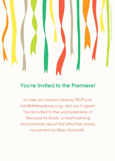 "Movie Premiere Invitation Template Free Beautiful the World Premiere Of ""because It S Small "" Line"