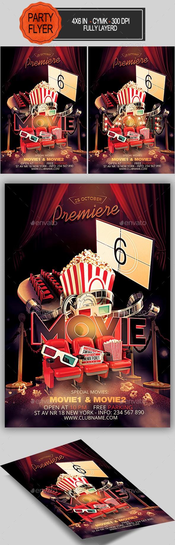 Movie Premiere Invitation Template Free Elegant Red Carpet Premiere Invitation Template Dondrup