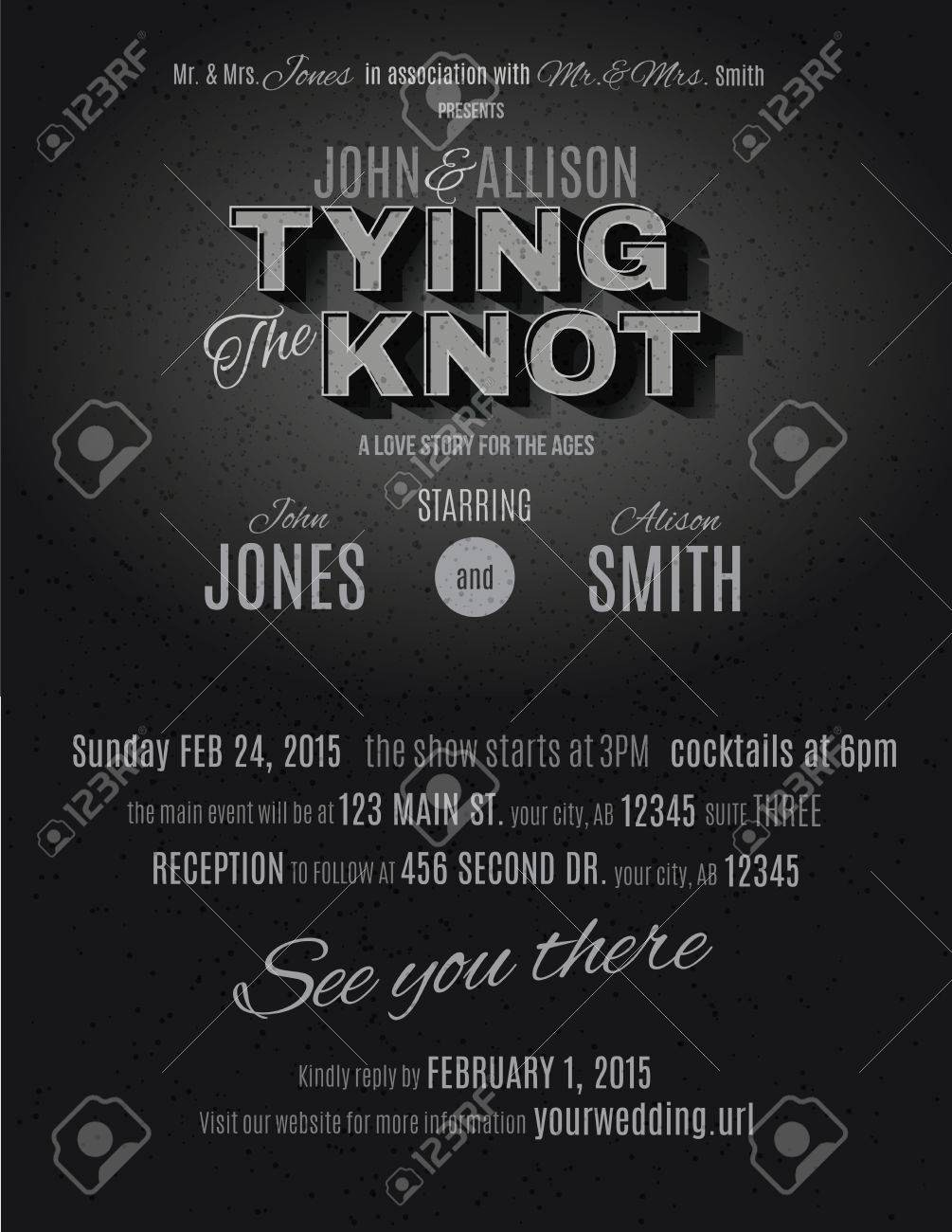 Movie Premiere Invitation Template Free Elegant Vintage Movie Night Invitation Template Retro Cinema Text