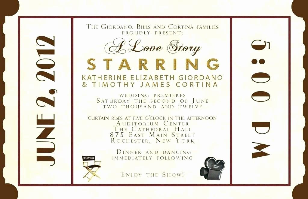 Movie Premiere Invitation Template Free Inspirational theater Invitation Template Movie Premiere theatre