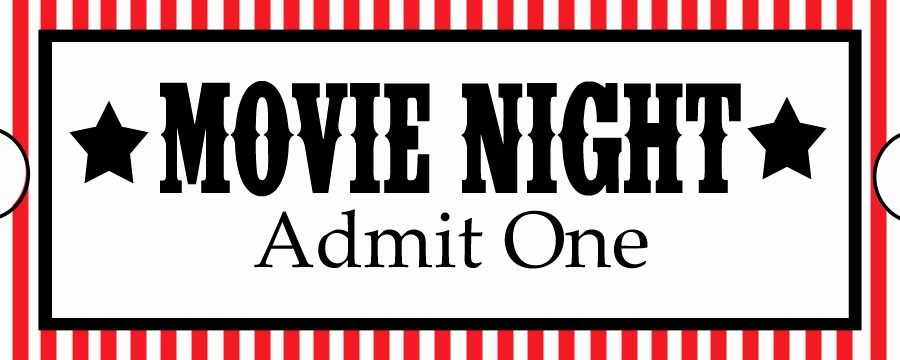 Movie Ticket Template Free Printable Best Of Sweet Daisy Designs Free Printables Home Movie theatre Night