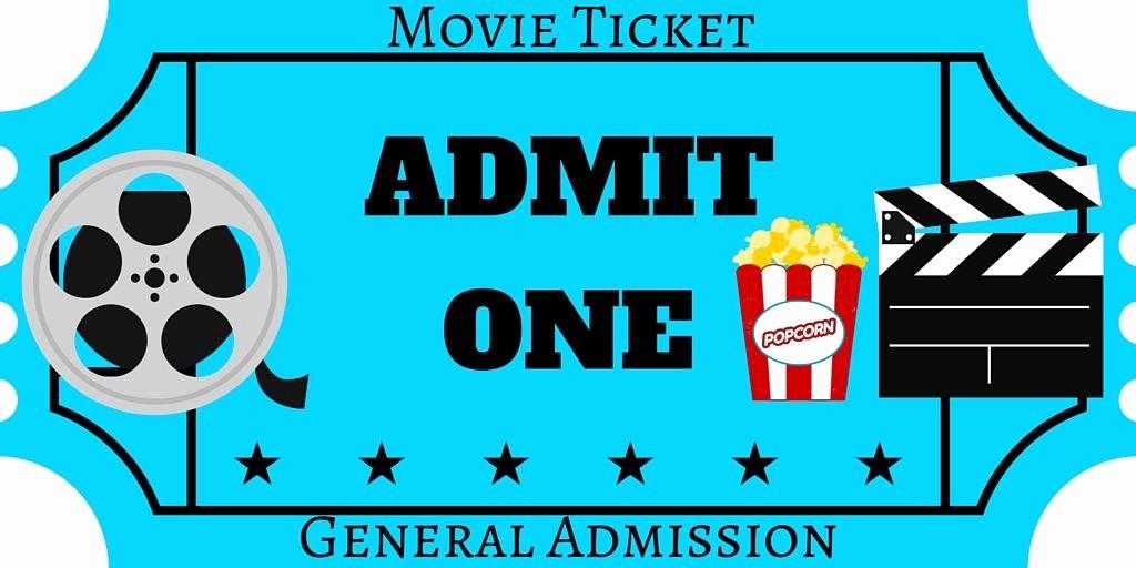 Movie Ticket Template Free Printable Fresh Free Printables Movie Pinterest