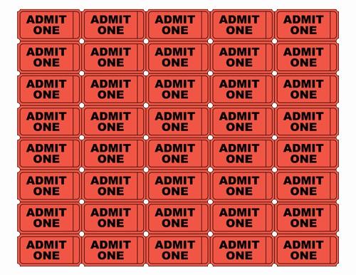 Movie Ticket Template Free Printable Inspirational Free Printable Admit E Ticket Templates Blank