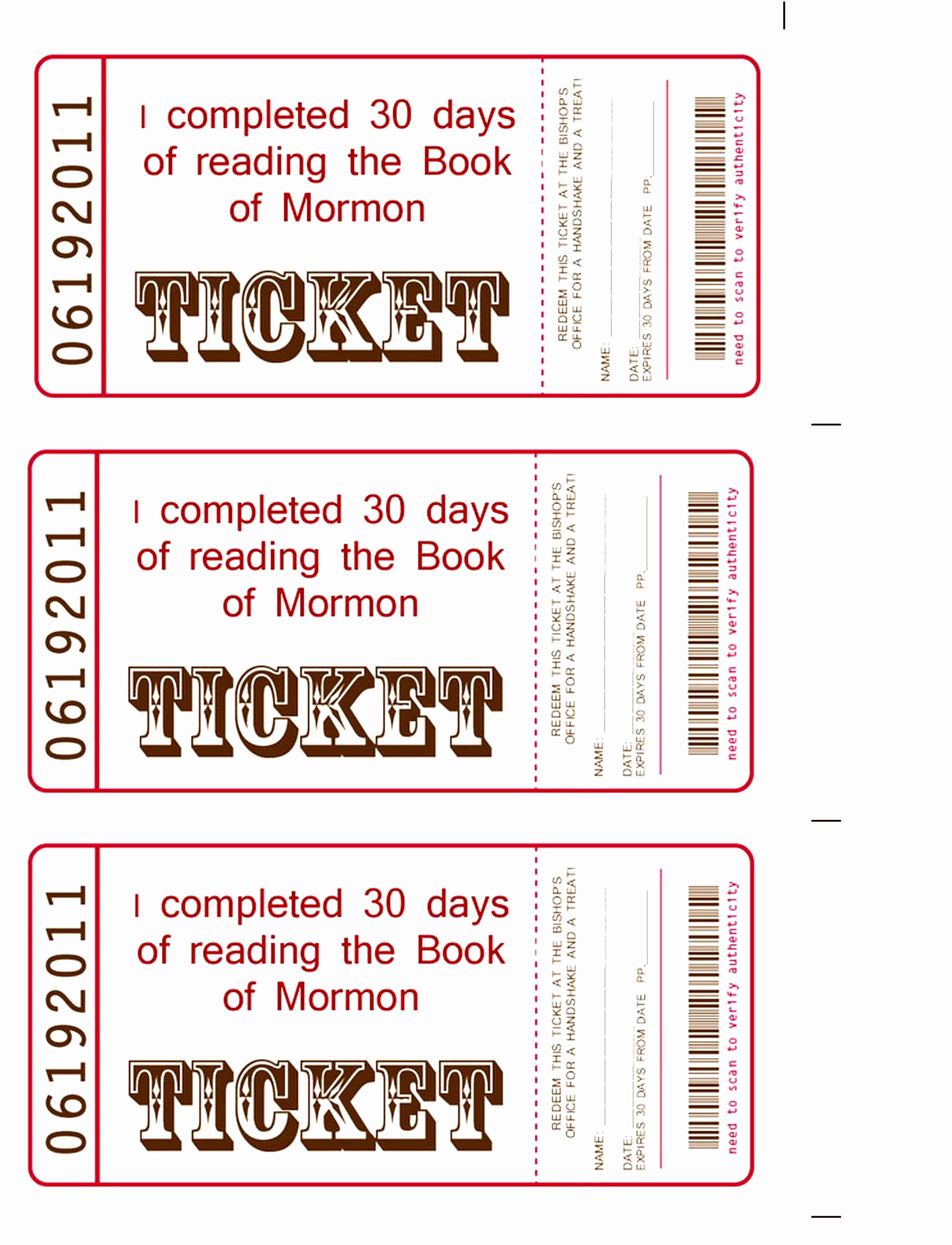 Movie Ticket Template Free Printable Lovely 6 Raffle Book Template Tuioa