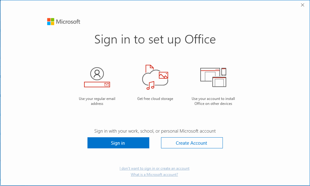 Ms Office 365 Sign In Best Of Fice 365 Proplus Device Based Activation Skip Sign In