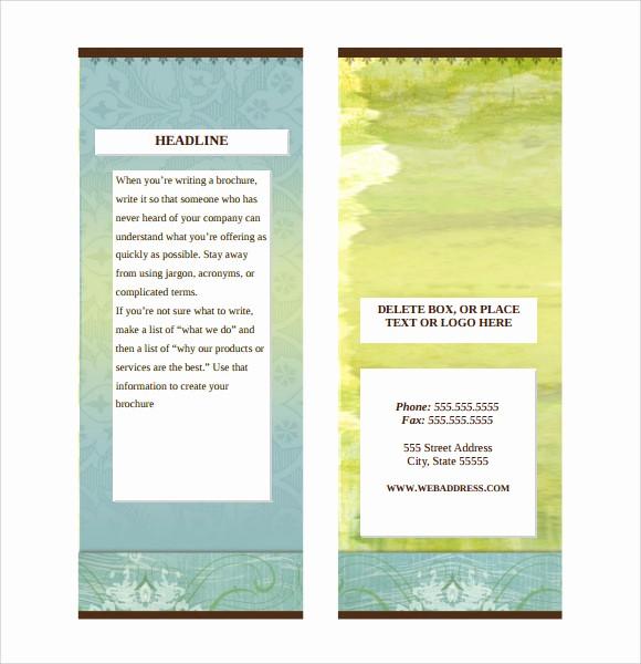 Ms Office Brochure Templates Free Best Of 7 Sample Microsoft Brochures