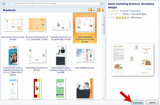 Ms Office Brochure Templates Free Best Of Drivers for Everything Microsoft Office Brochure