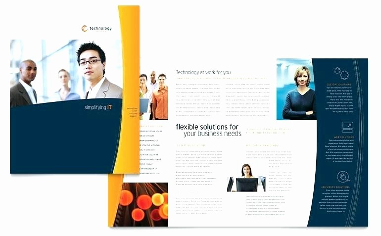 Ms Office Brochure Templates Free Luxury Ms Fice Brochure Template Word Templates Resume for