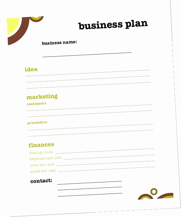 Ms Office Business Plan Template Unique Microsoft Office Business Plan Template – Blogopoly
