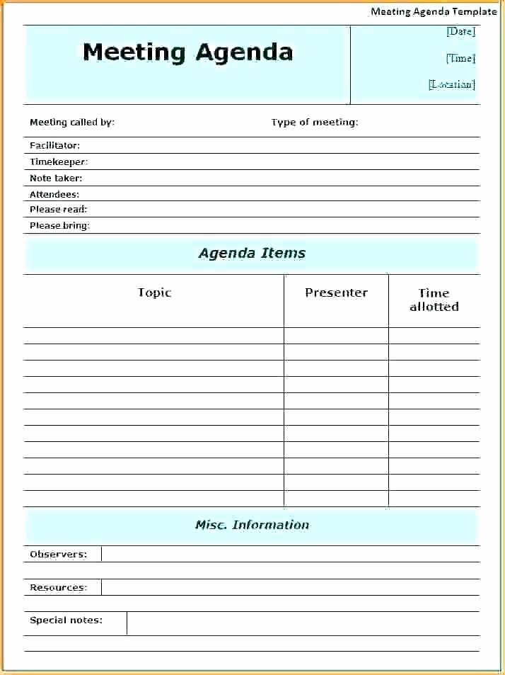 Ms Office Meeting Agenda Template Awesome Sample Meeting Agenda Template for Word Business Effective
