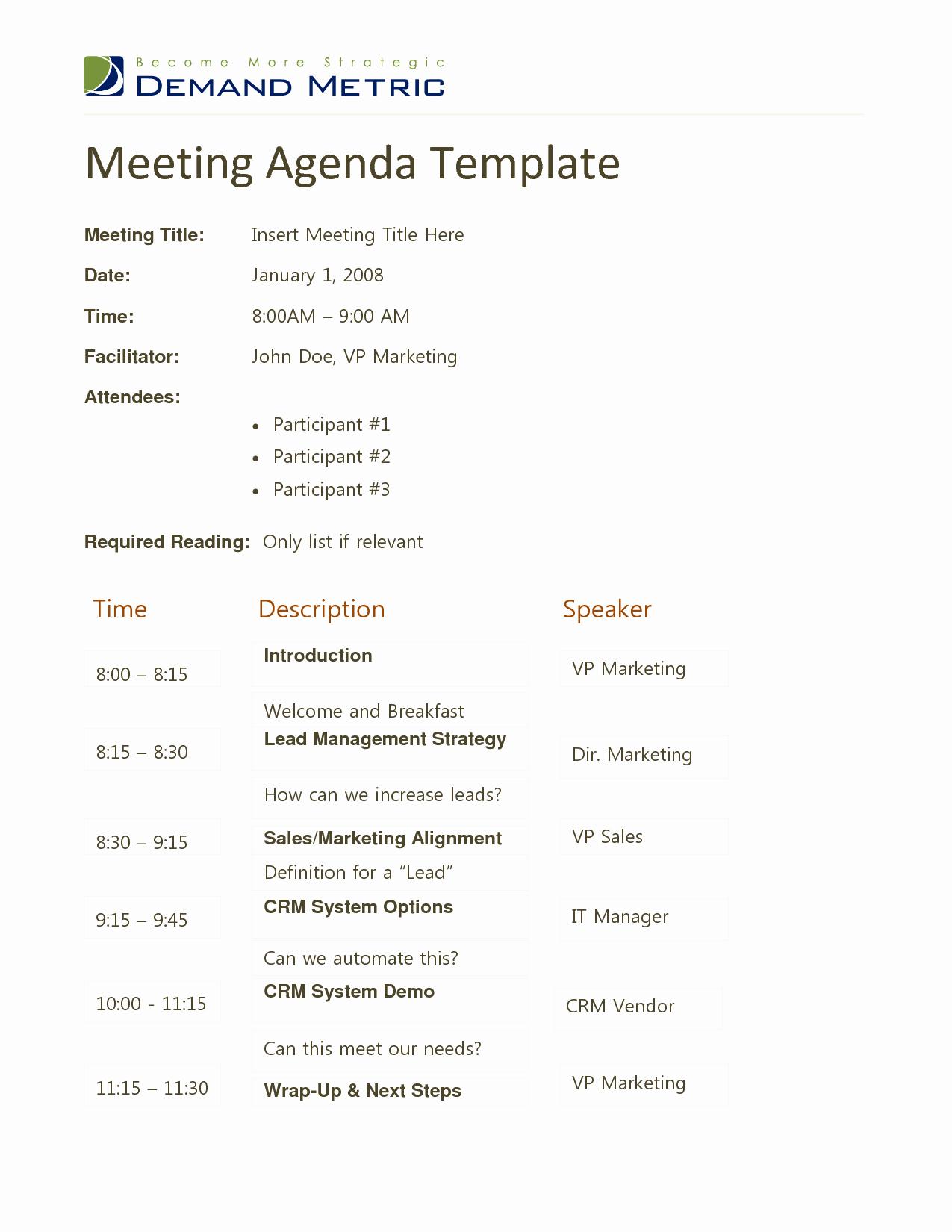 Ms Office Meeting Agenda Template Elegant 10 Best Of Fice Meeting Agenda format Medical