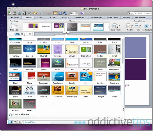 Ms Office Power Point themes Beautiful Powerpoint 2011 for Mac Review What S New