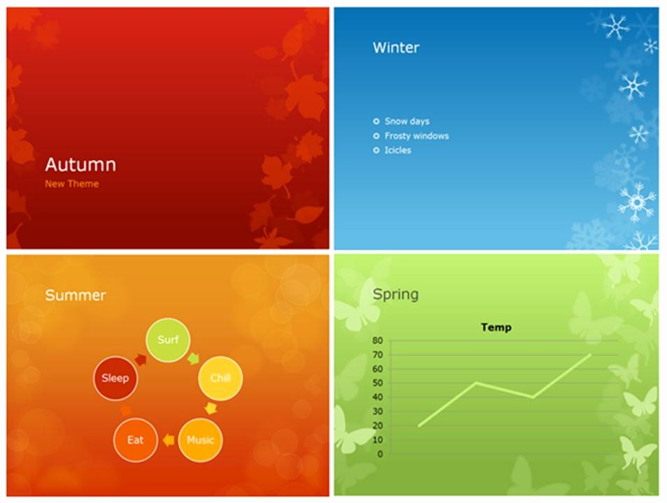 Ms Office Power Point themes Best Of Give Your Presentations A Seasonal Flair with Powerpoint's