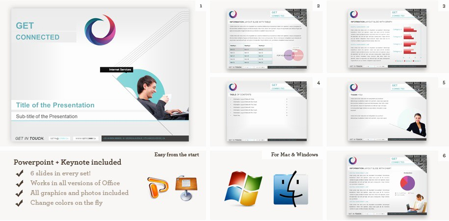 Ms Office Power Point themes Elegant Microsoft Powerpoint Templates and Keynote Templates