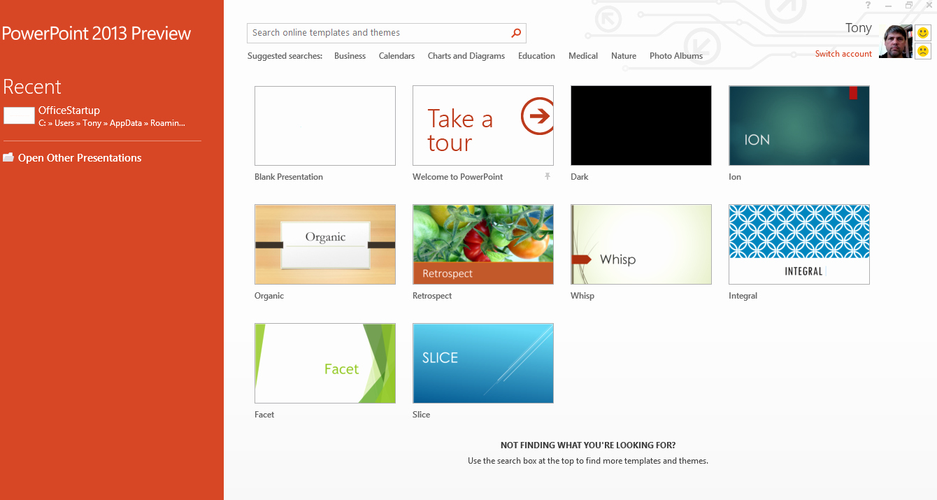 Ms Office Power Point themes New Microsoft Powerpoint 2013 Hands